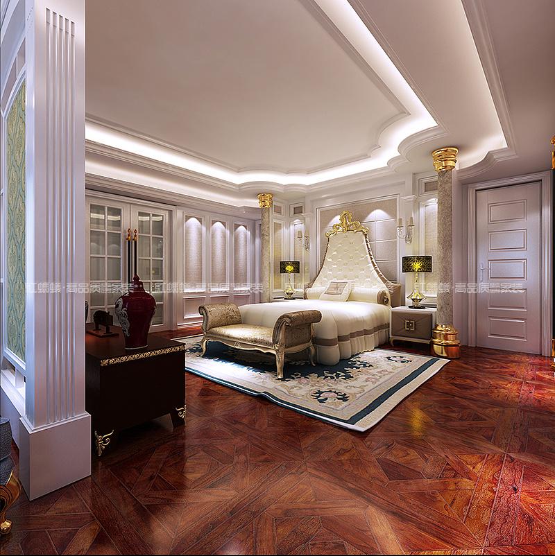 红蚂蚁装饰中欧混搭效果图|空间|室内设计|江苏红蚂蚁图片