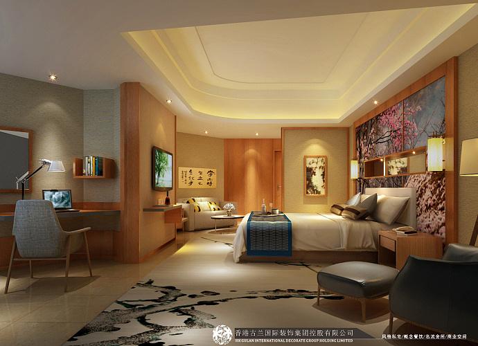 锦途酒店商务酒店装修设计-甘肃白银商务城市在ai中如何绘制同心圆图片