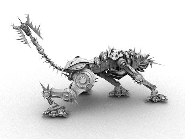 喵玛雅建模{机器的猫骨架}——附赠全面和专业人才的感慨.
