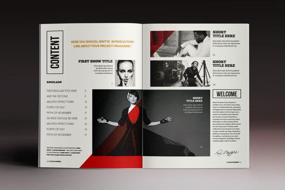 画册杂志排版欣赏indesign模板|平面|书装/画册|顶尖图片