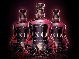洋酒包装设计-XO-鲸奇创意