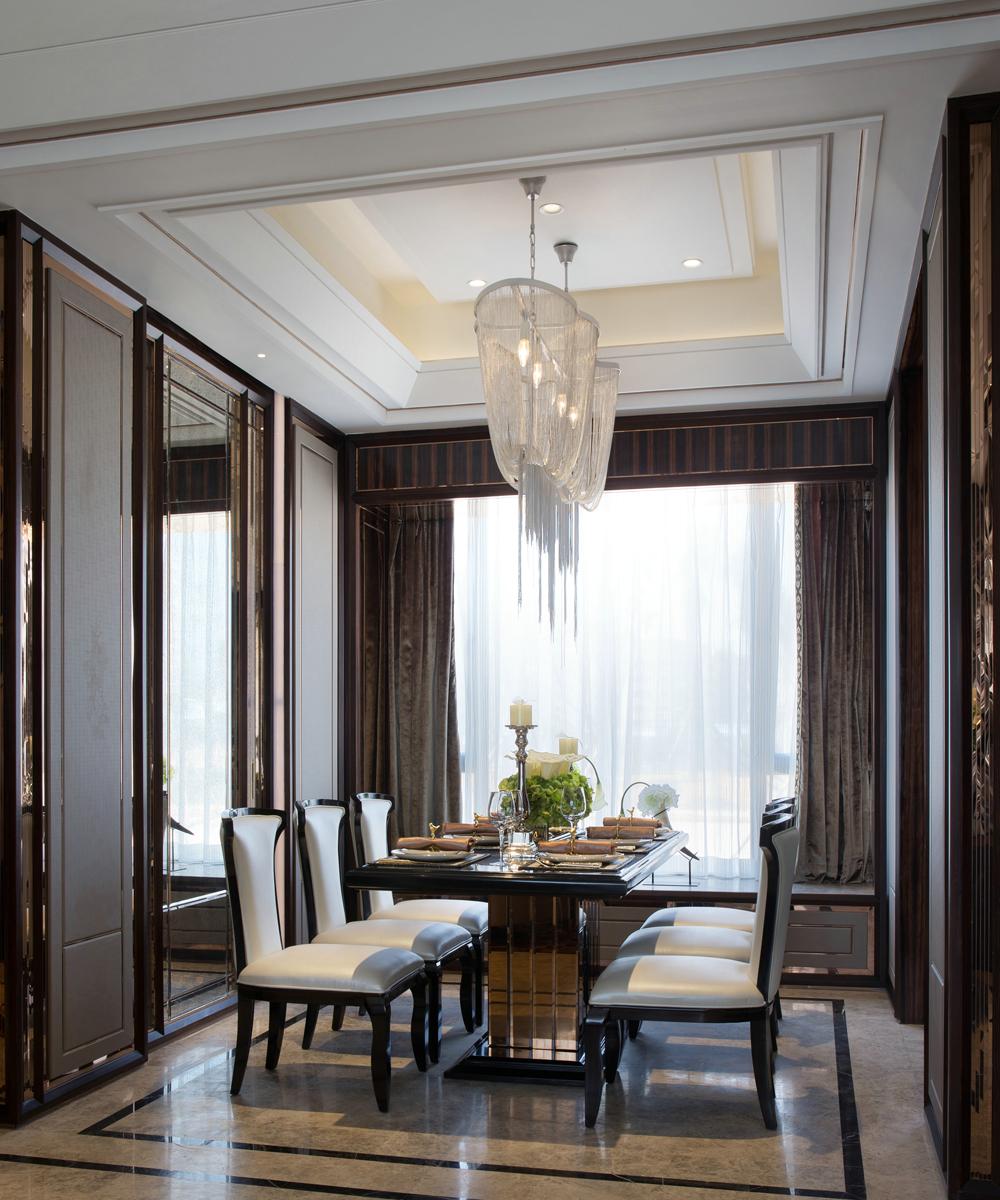 现代简欧风格,客厅装修效果图,现代港式.