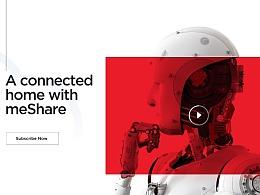 meShare网站视觉