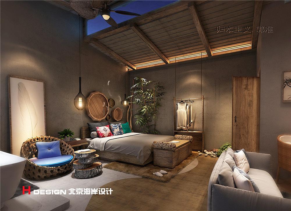 上谷郡精品平面室内设计楼房北京海岸v精品出品民宿层设计图18案例图片