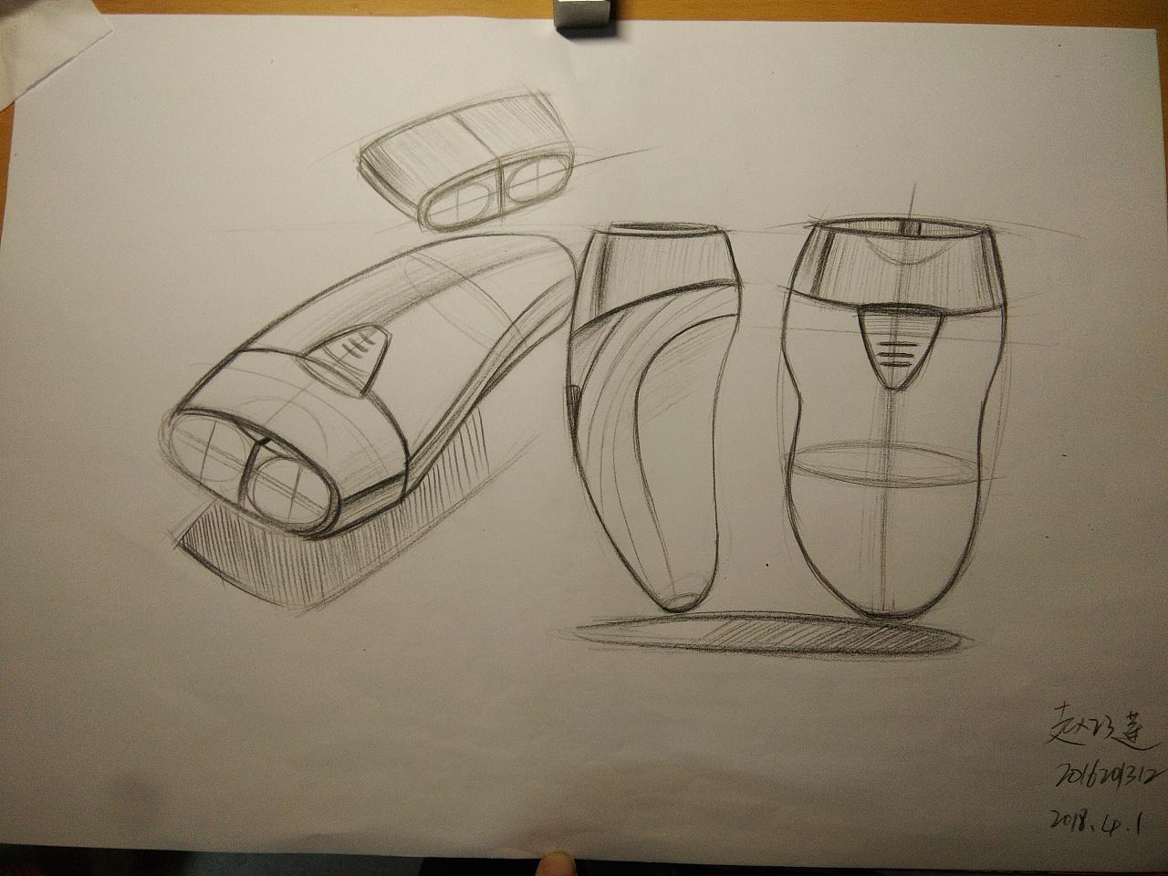 工业设计产品手绘临摹图