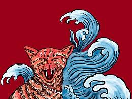 喜猫.国潮