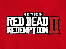 《Red Dead: RedemptionⅡ》荒野大镖客2 页面设计