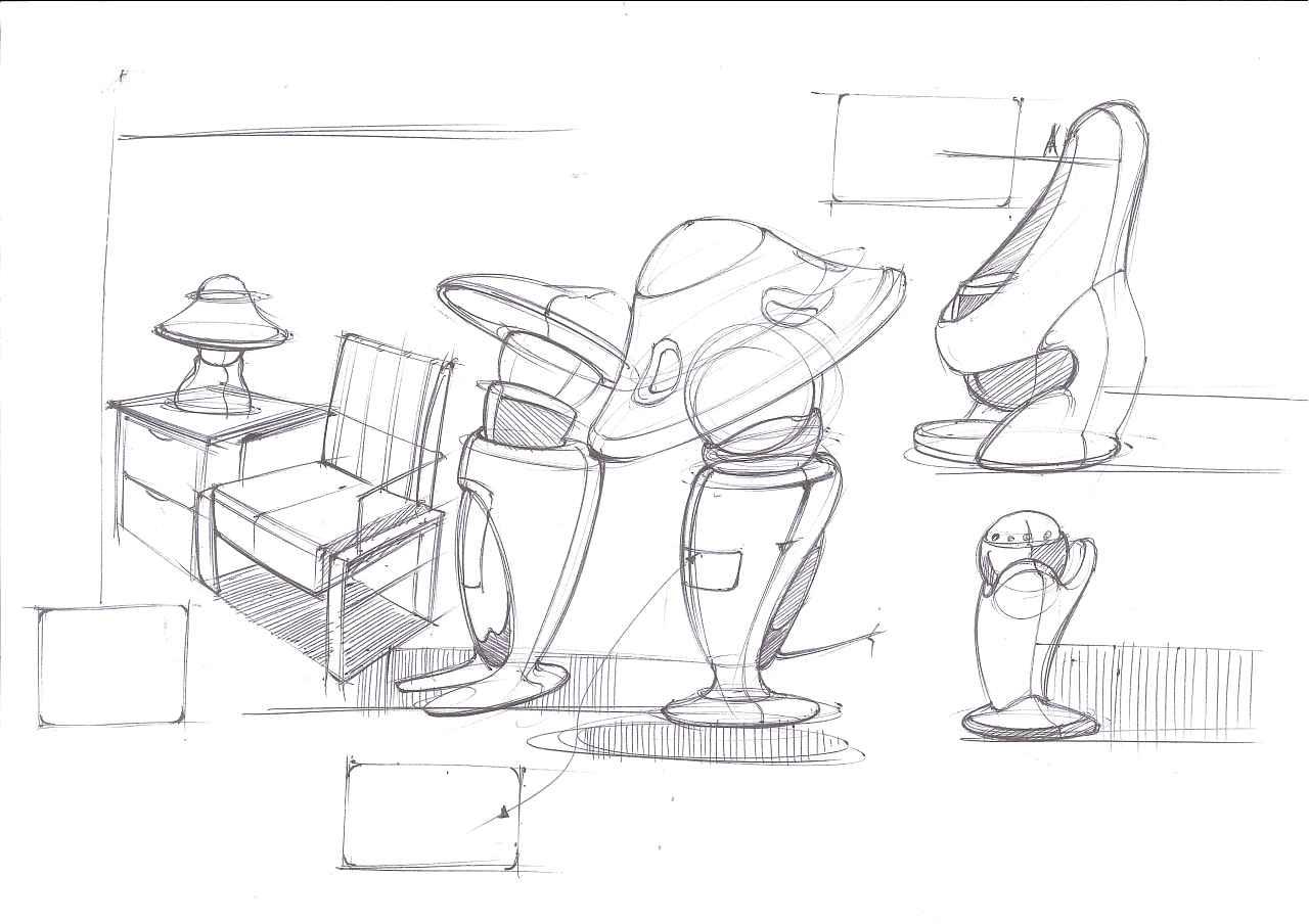 工业设计手绘之家用电器|工业/产品|电子产品|四重米