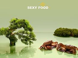 顺丰大闸蟹 | 新中式主题创意海报