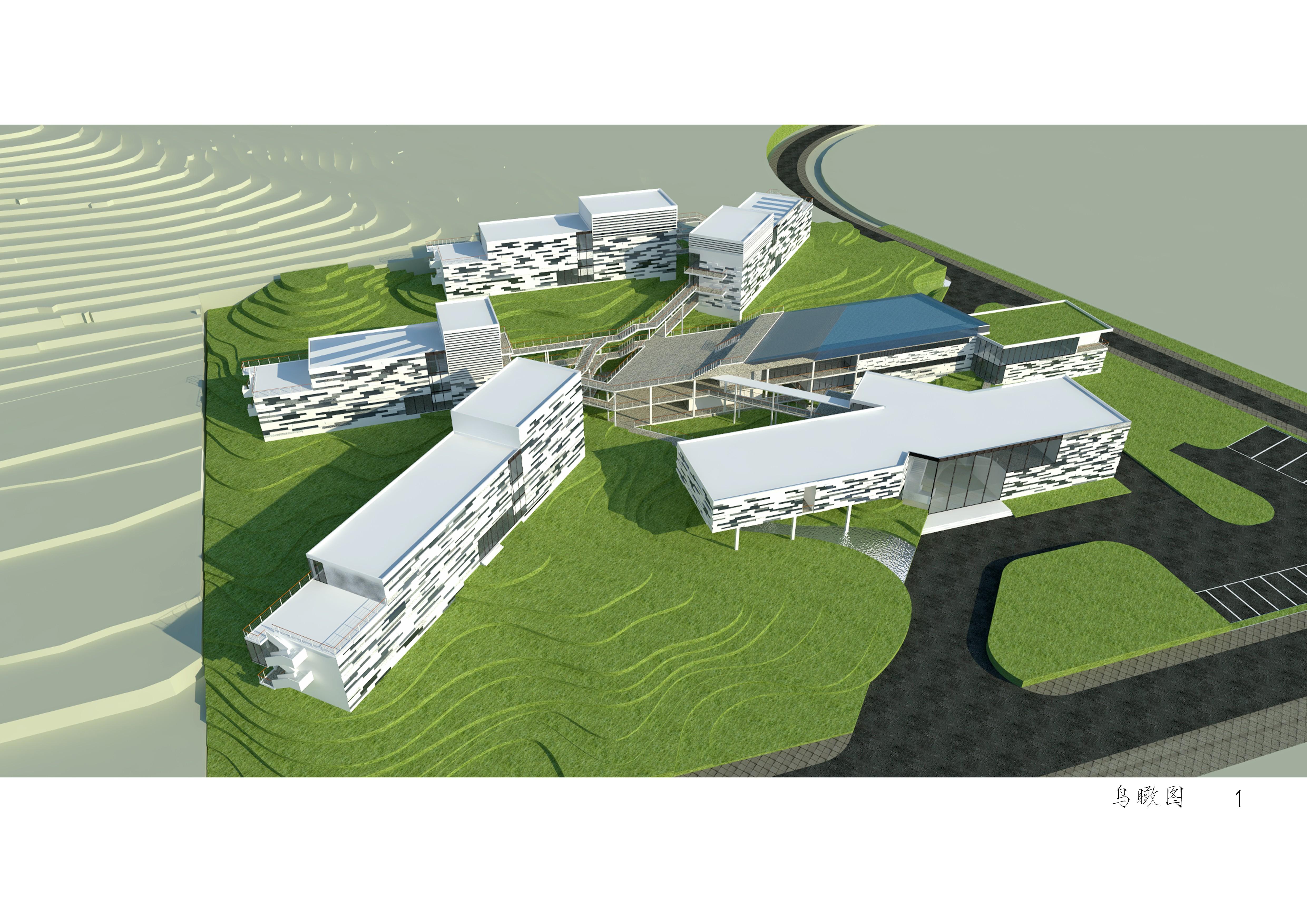 山地旅馆|空间|建筑设计|icantstop - 原创作品图片