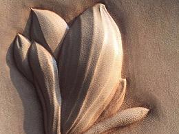 皮塑白玉兰花