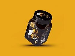吉尔吉斯斯坦黑蜂蜜包装