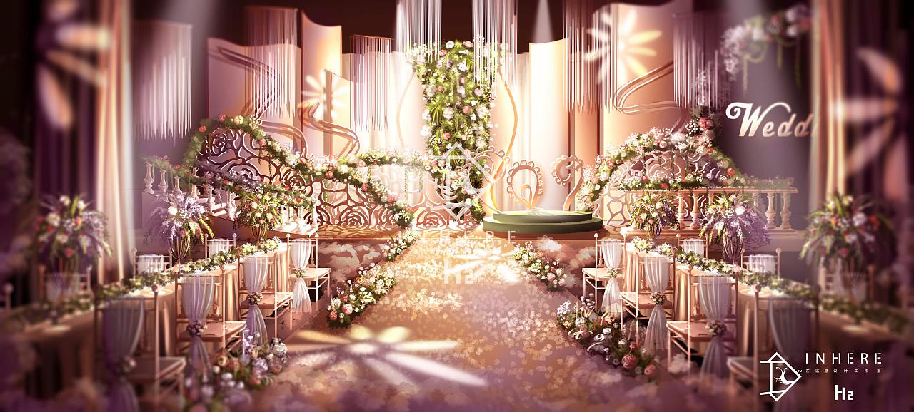 婚礼效果图 手绘|空间|舞台美术|罗宾汉h2 - 原创作品