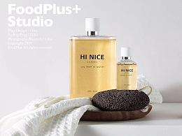 FoodPlus ✖️ HiNice   含氨基酸香氛沐浴露