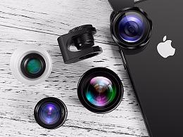 一个手机镜头-库存
