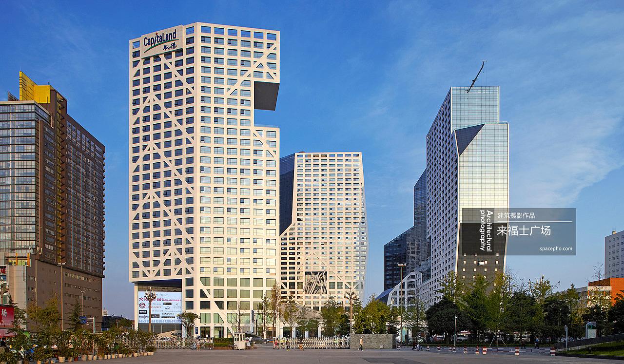 独尊建筑摄影:成都来福士广场