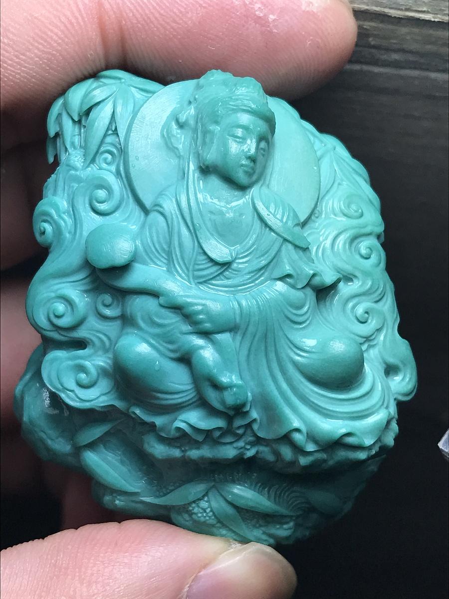 查看《绿松石『竹林观音』》原图,原图尺寸:4032x3024