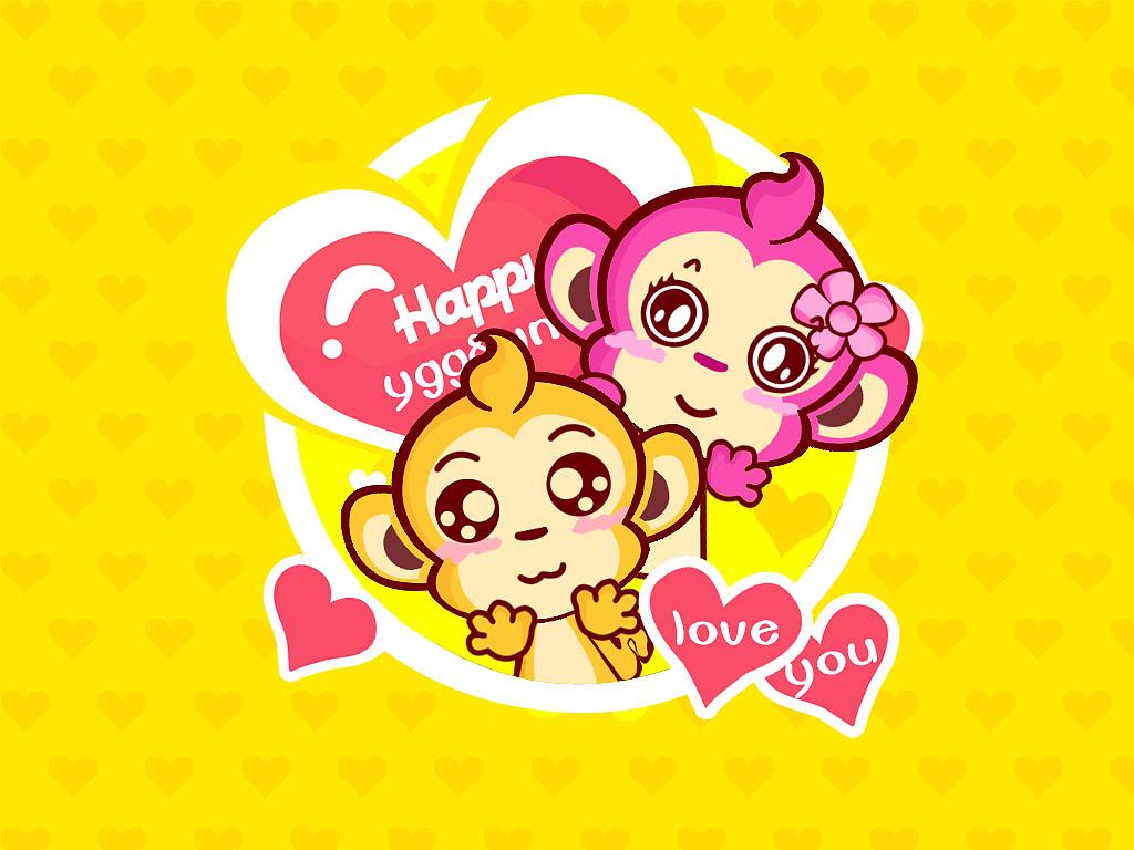 y小猴系列卡通形象设计