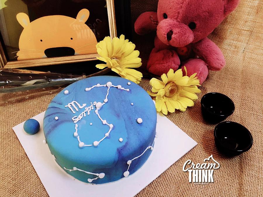 手工思维R天蝎座蛋糕星座A|其他奶油|手工艺双子座吵架后的表现图片