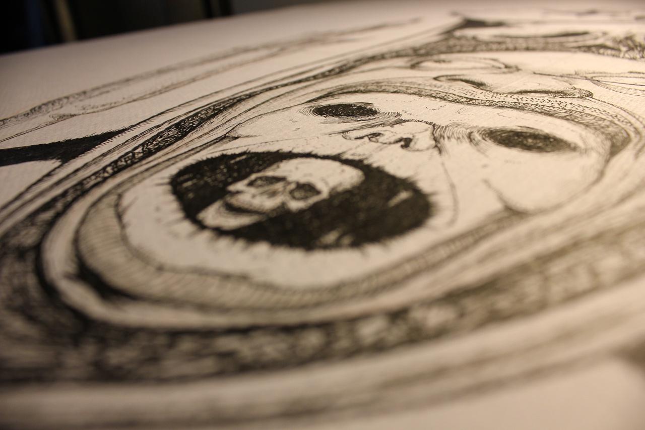 暗黑 纯手绘图片
