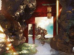 『寻仙』(含绘画过程~)