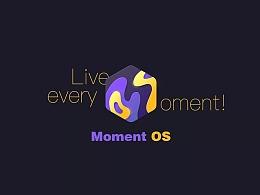 Moment OS  LOGO及界面设计