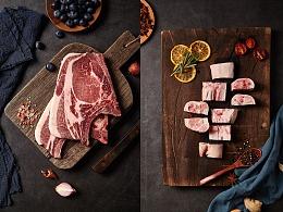 美食肉类猪蹄猪排拍摄