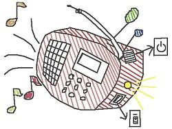 卡通收音机
