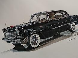 第一代国产阅兵车—红旗CA72(1959)