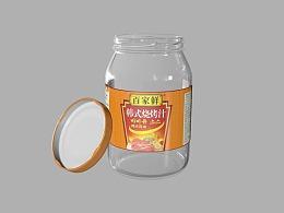 食品包装 产品包装 调味罐 调味品 调味包装 螺旋瓶口