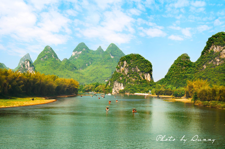 桂林山水思维导图清楚