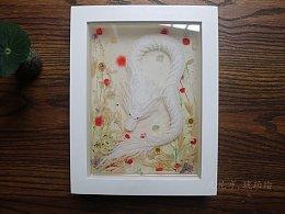 白龙蟒(琥珀绘)