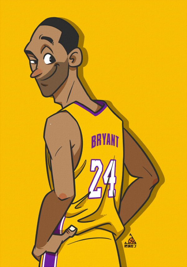 几张NBA漫画国产|||林吃球-恋爱设计作品-站球员原创的漫画图片