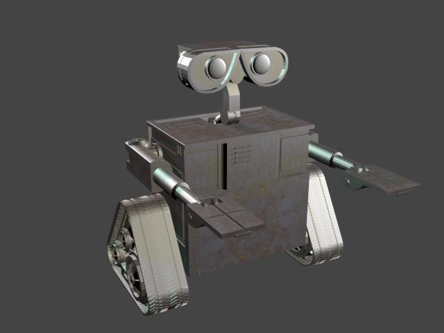 机器人小瓦力