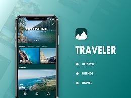 Traveler概念App设计