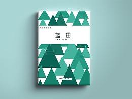 西安蓝田旅游手册设计