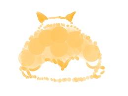 手绘小动物之可爱的狗狗