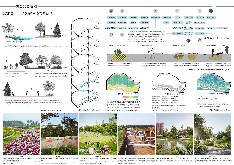 景观本科作品集|空间|景观设计|佛系少女m - 原创作品图片