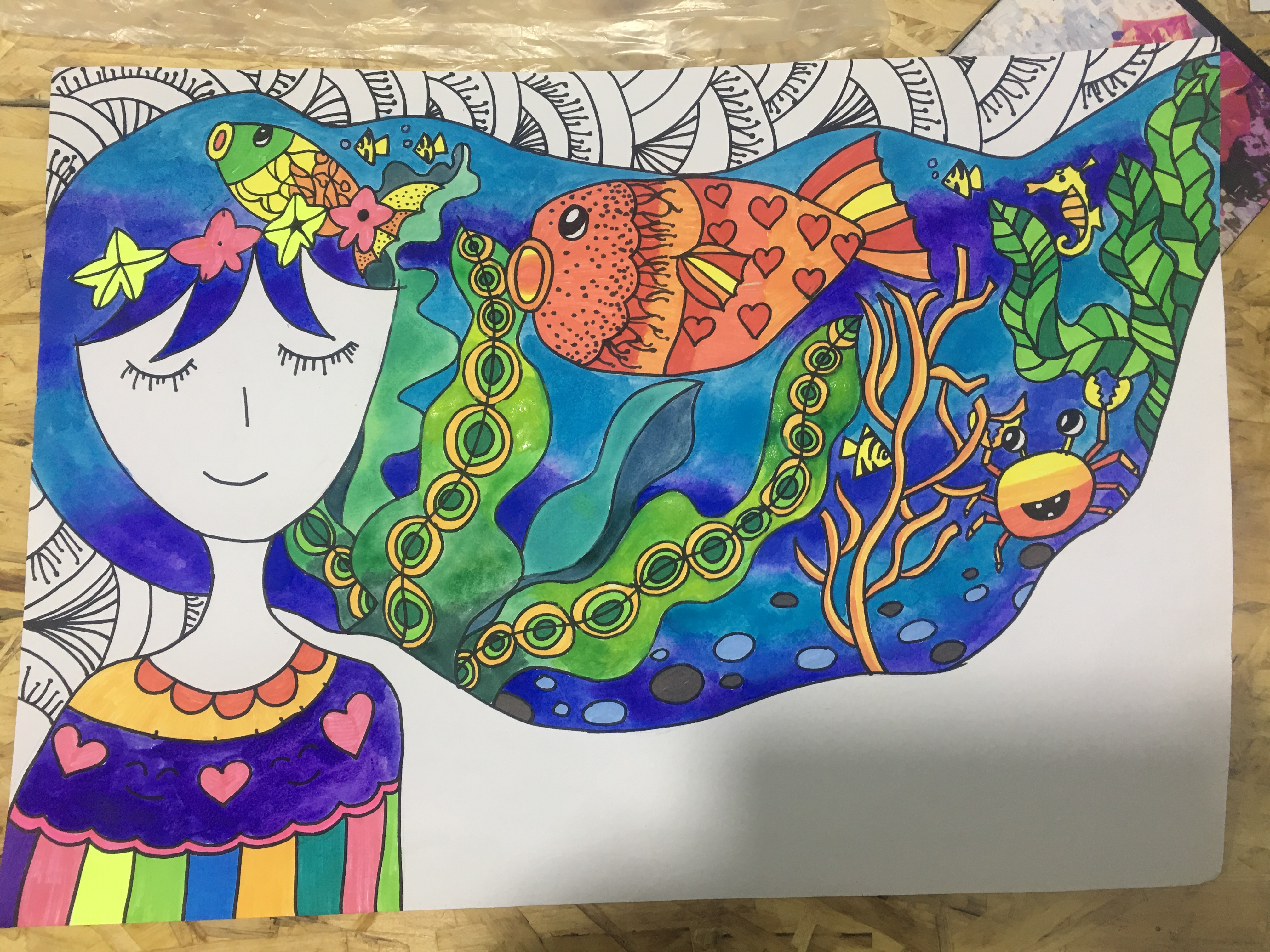铅笔画)简笔画图片作品 儿童学小学生铅笔画)图片