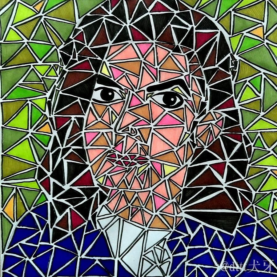 这里有一堆三角形图片