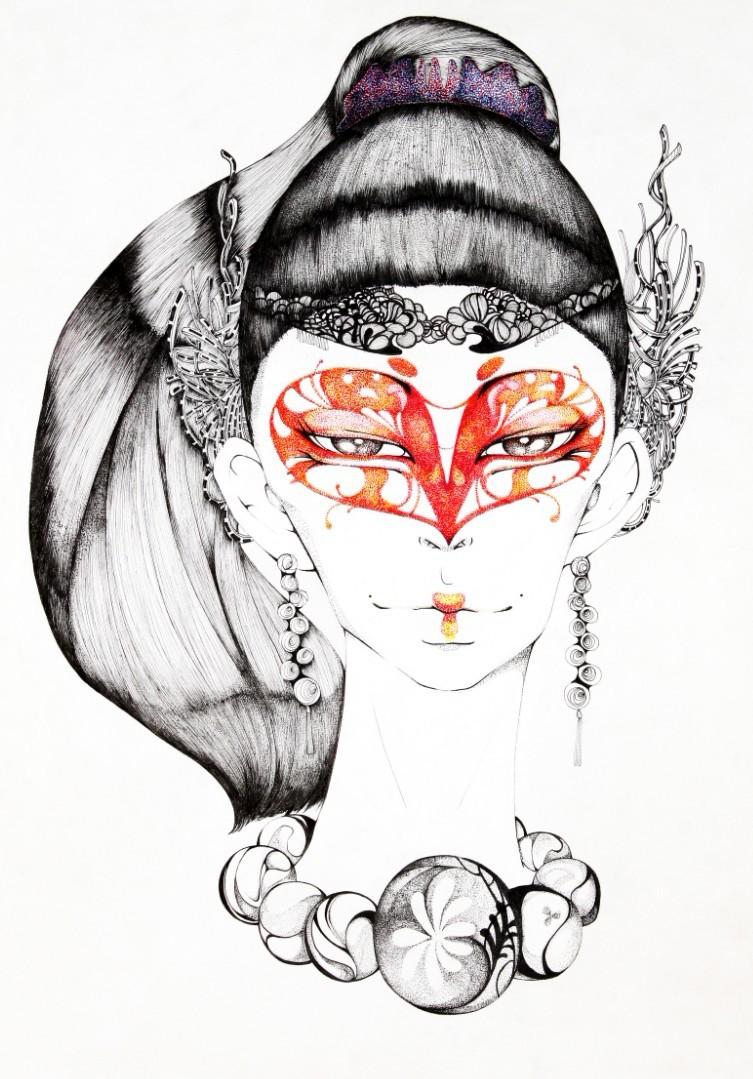 查看《JAMU時尚插畫之十二生肖合集》原图,原图尺寸:753x1079