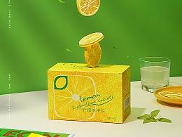 电商摄影   柠檬冻干片+柠檬蜜茶 x 映物社
