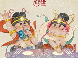 飞天系列+唐仕女系列(2020年第三季度总结)