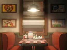 餐廳與廚房