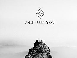 【ANAN LIKE YOU】女装品牌形象视觉识别系统