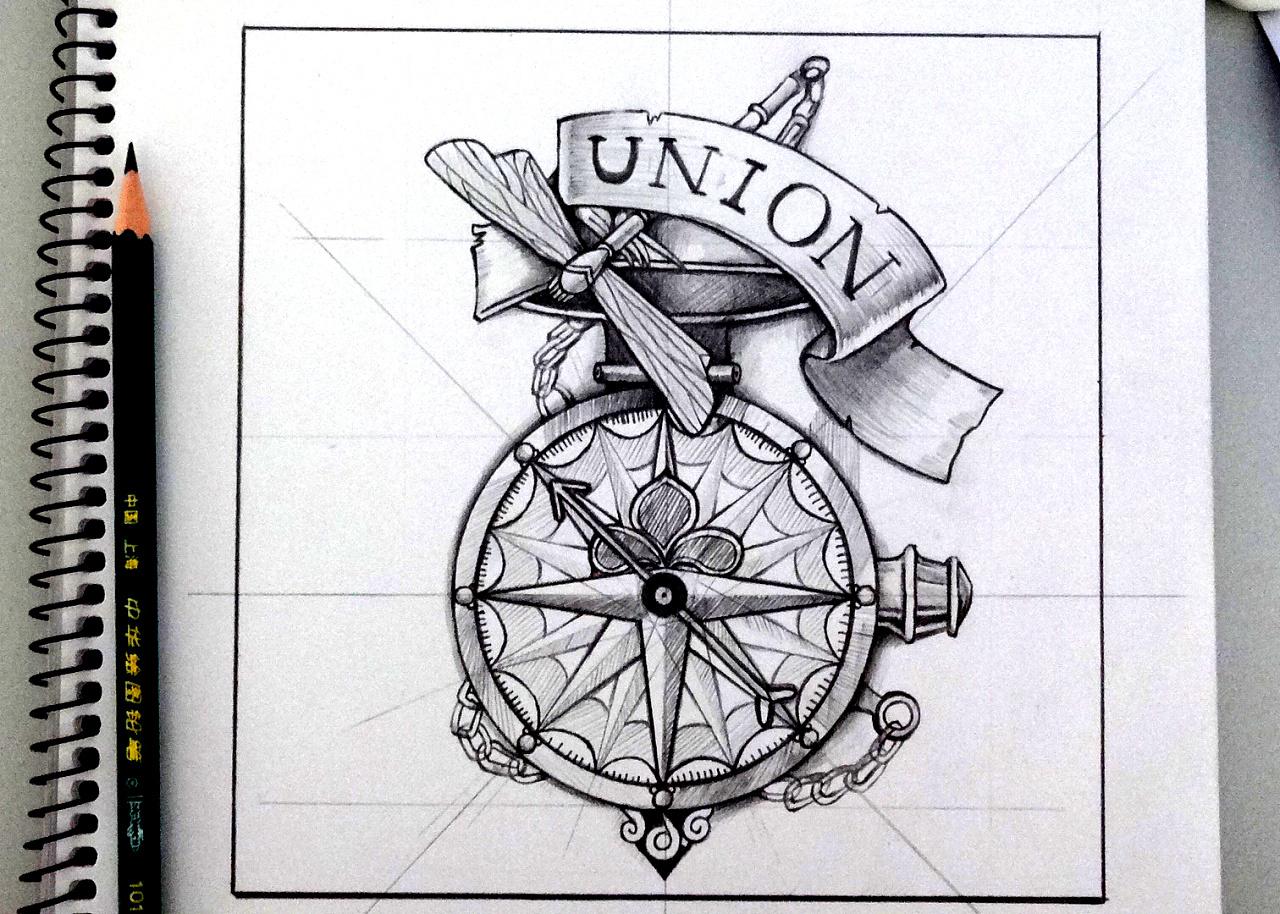 手绘——欧美风格写实图标