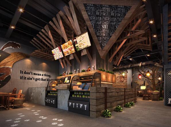 《mancat咖啡厅设计》——广元咖啡厅设计