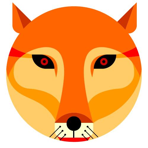 illustration 动物头图片