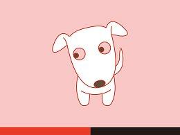 一款小狗狗的形象练习