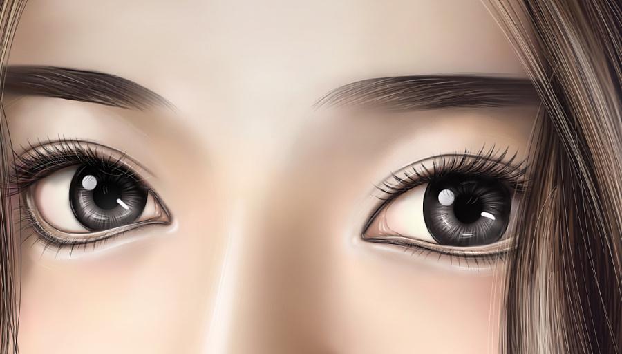 手绘人物写实|其他绘画|插画|dramshen